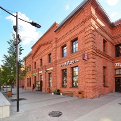 Площадь 25 м² с отделкой строение 1